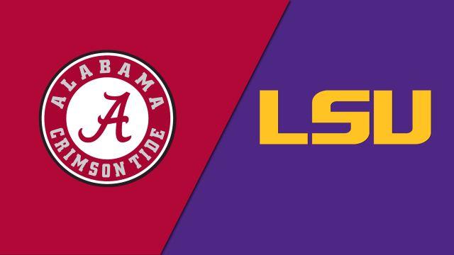 Alabama vs. LSU