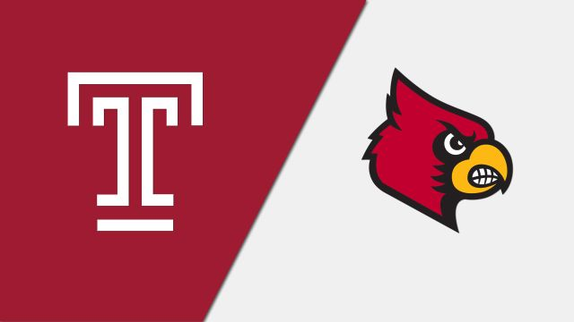 Temple vs. Louisville (M Soccer)