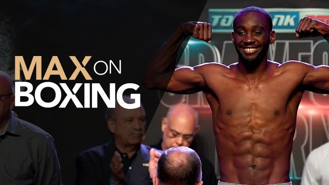 Fri, 12/13 - Max on Boxing: Crawford vs. Kavaliauskas Weigh-In