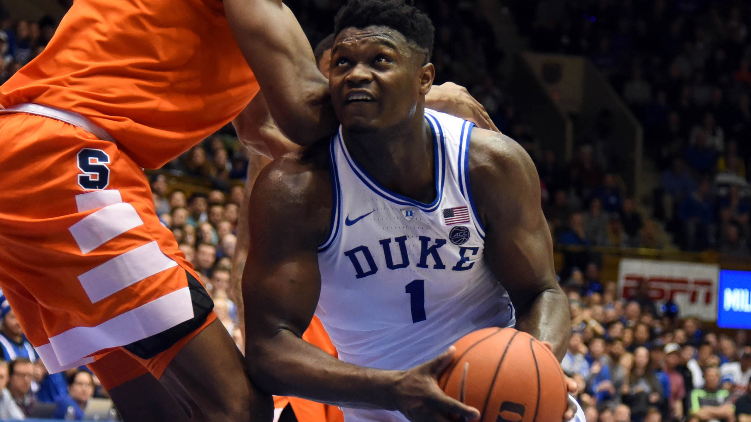 Syracuse vs. #1 Duke (M Basketball) (re-air)