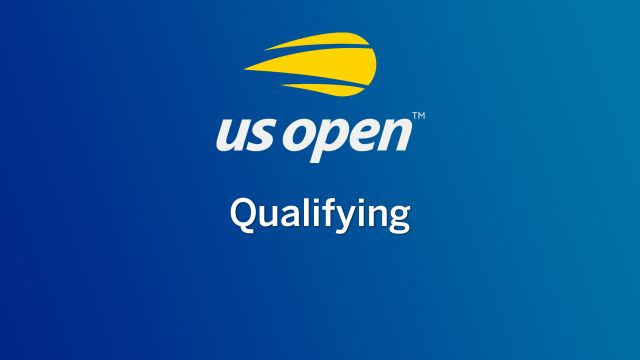 Tue, 8/20 - US Open Qualifying (First Round)