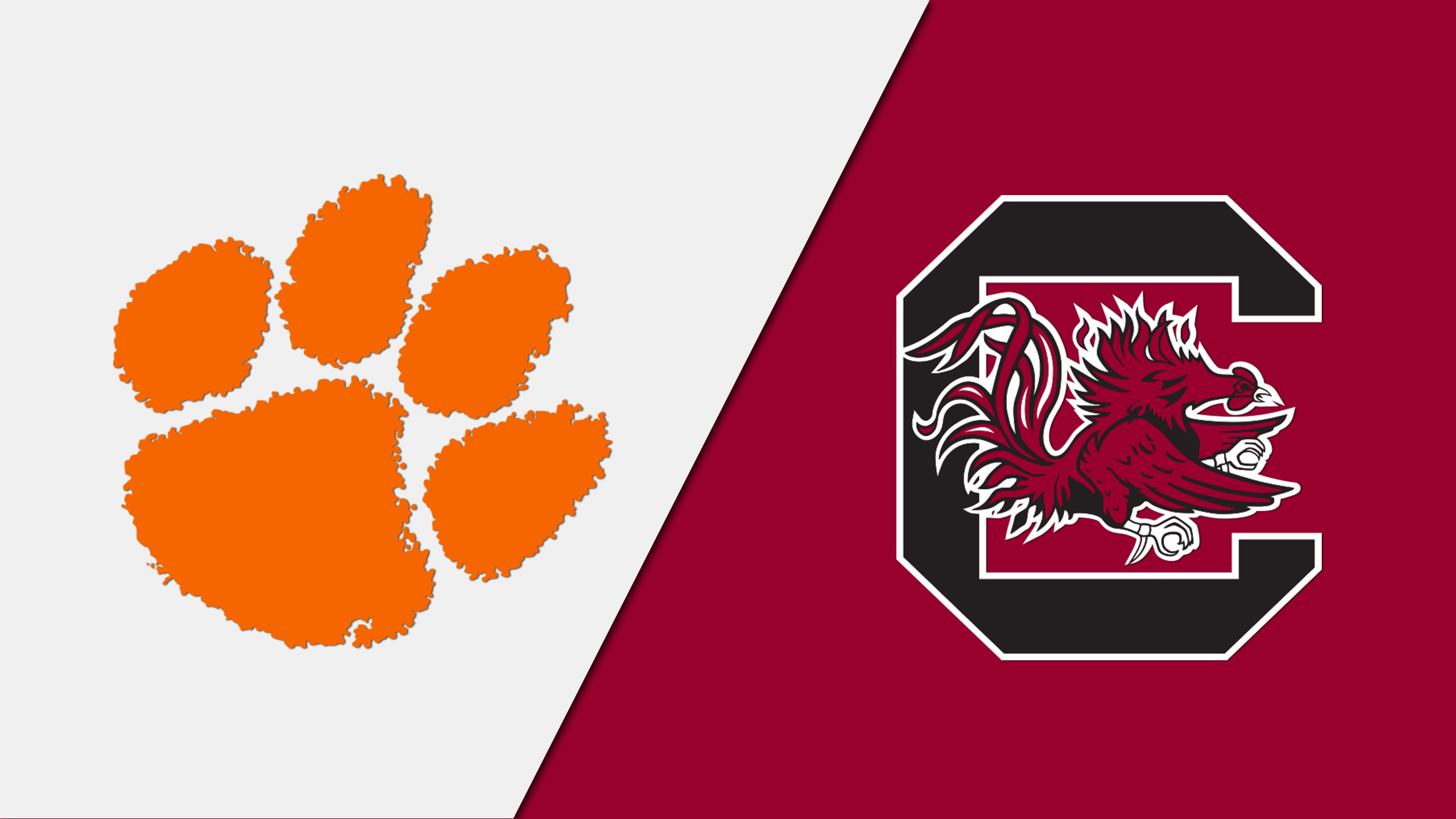 Clemson vs. #10 South Carolina (W Basketball) (re-air)