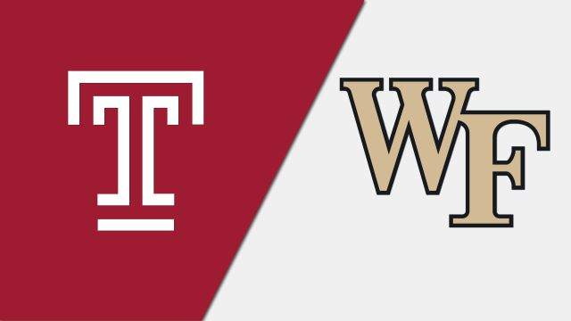 Temple vs. #23 Wake Forest (W Soccer)
