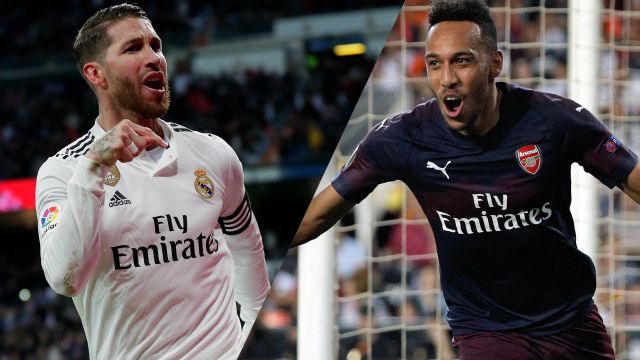 In Spanish-Real Madrid vs. Arsenal (International Champions Cup)