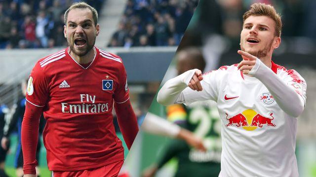 Hamburg SV vs. RB Leipzig (Semifinal) (German Cup)