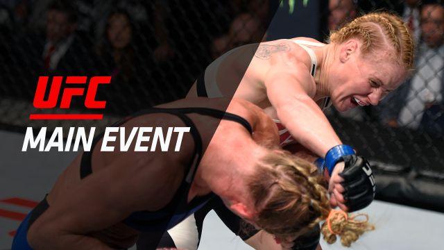 UFC Main Event: Holm vs. Shevchenko