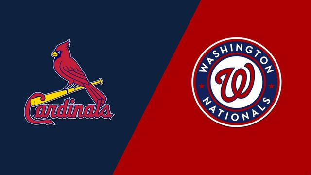 St. Louis Cardinals vs. Washington Nationals (Game #4)