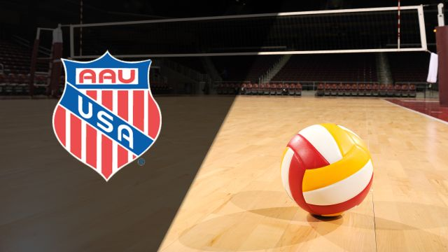AAU Junior National Volleyball Championships (17 Open Final - Girls)