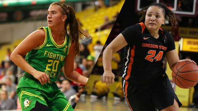 #4 Oregon vs. #7 Oregon State (W Basketball)