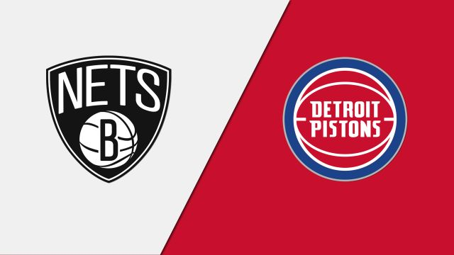 Brooklyn Nets vs. Detroit Pistons (Quarterfinal)