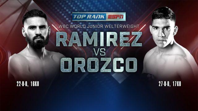 Jose Ramirez vs. Antonio Orozco