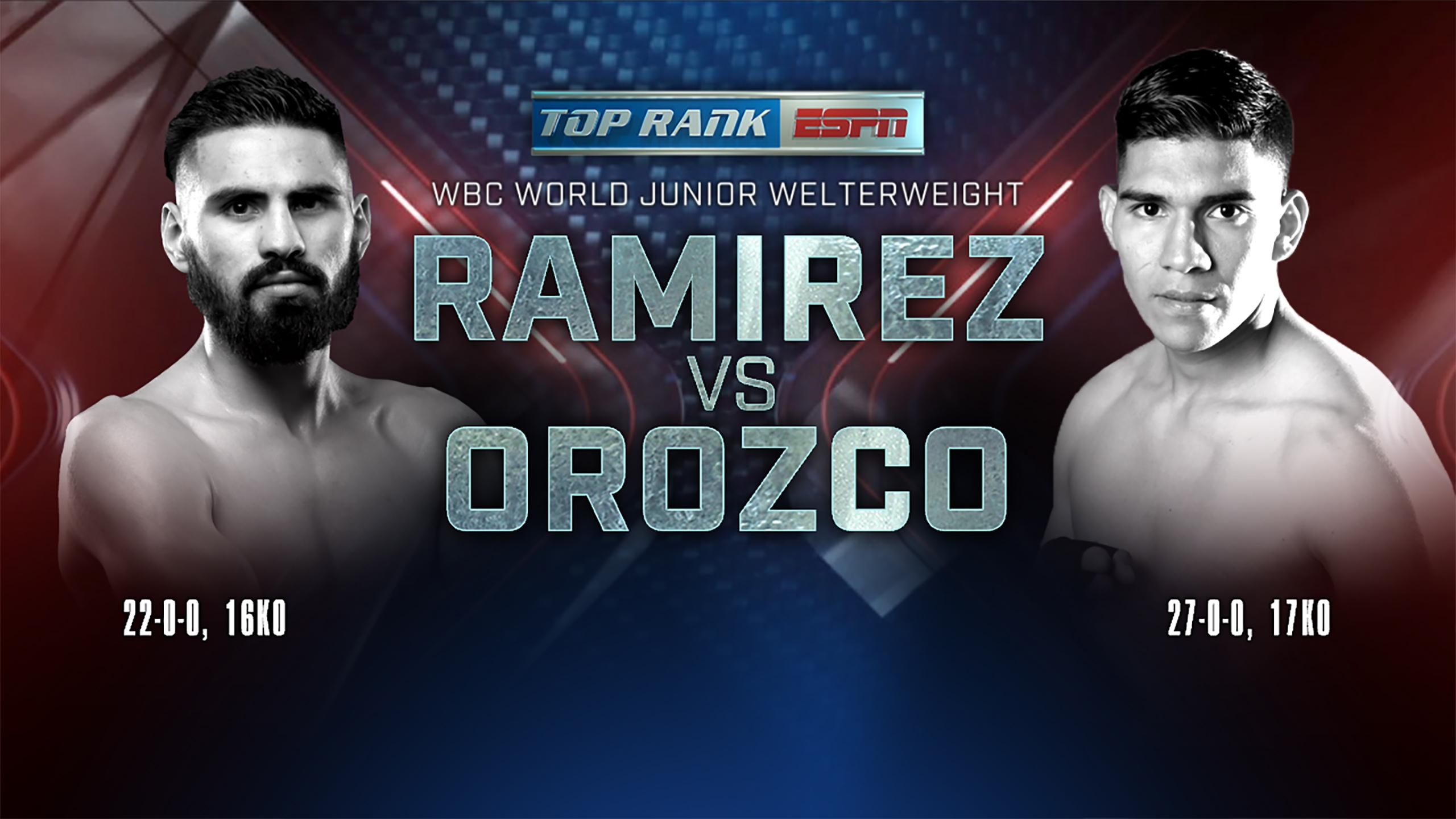 In Spanish - Jose Ramirez vs. Antonio Orozco