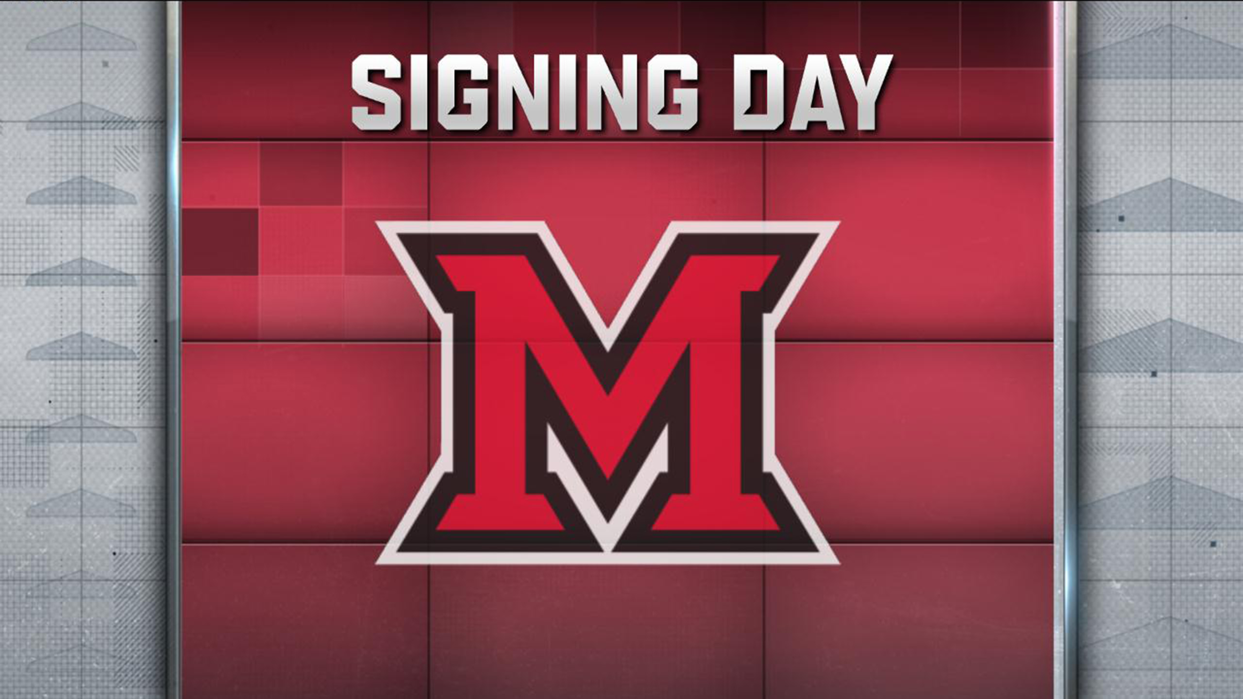 Miami (OH) National Signing Day Show  (Football)