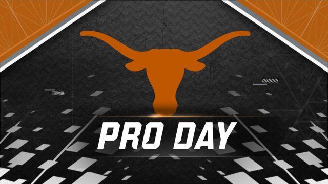Texas Football Pro Day