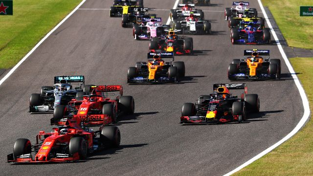 Formula 1 Japanese Grand Prix: Coverage presented by Mothers Polish