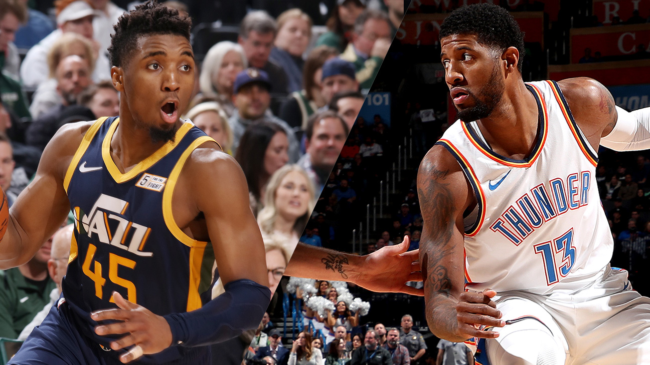Utah Jazz vs. Oklahoma City Thunder