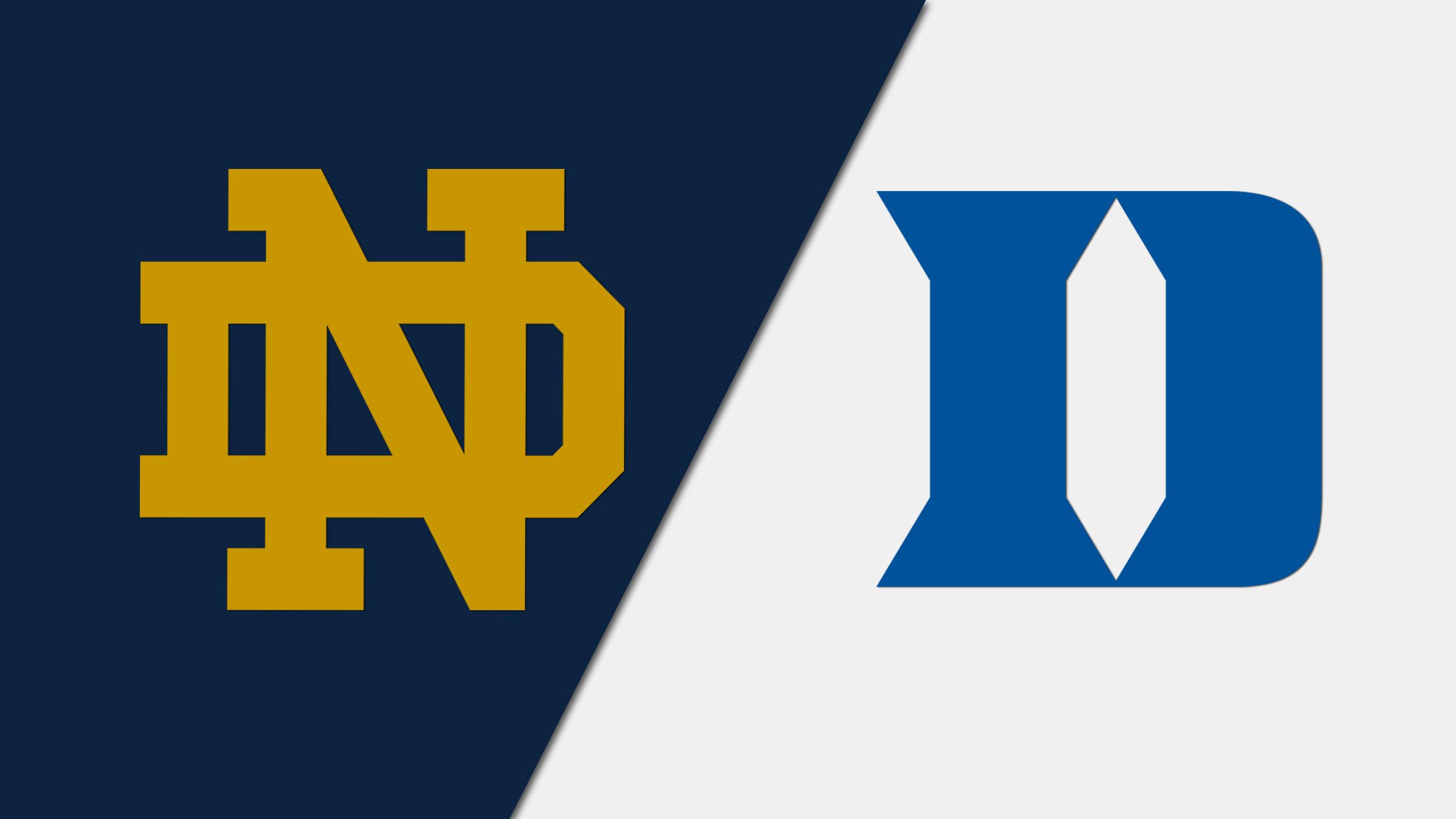 Notre Dame vs. Duke (W Volleyball)