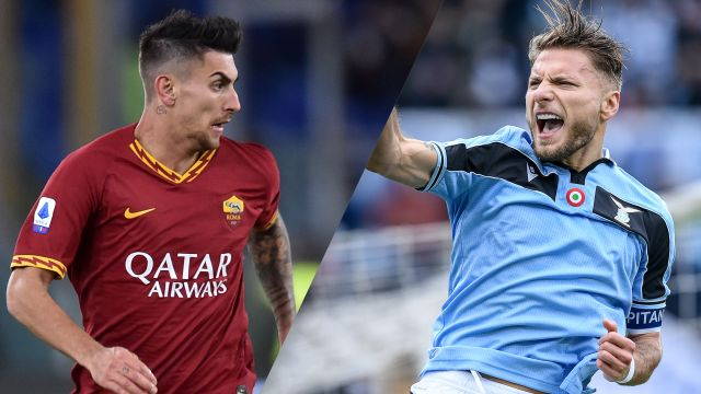 Sun, 1/26 - AS Roma vs. Lazio (Serie A)