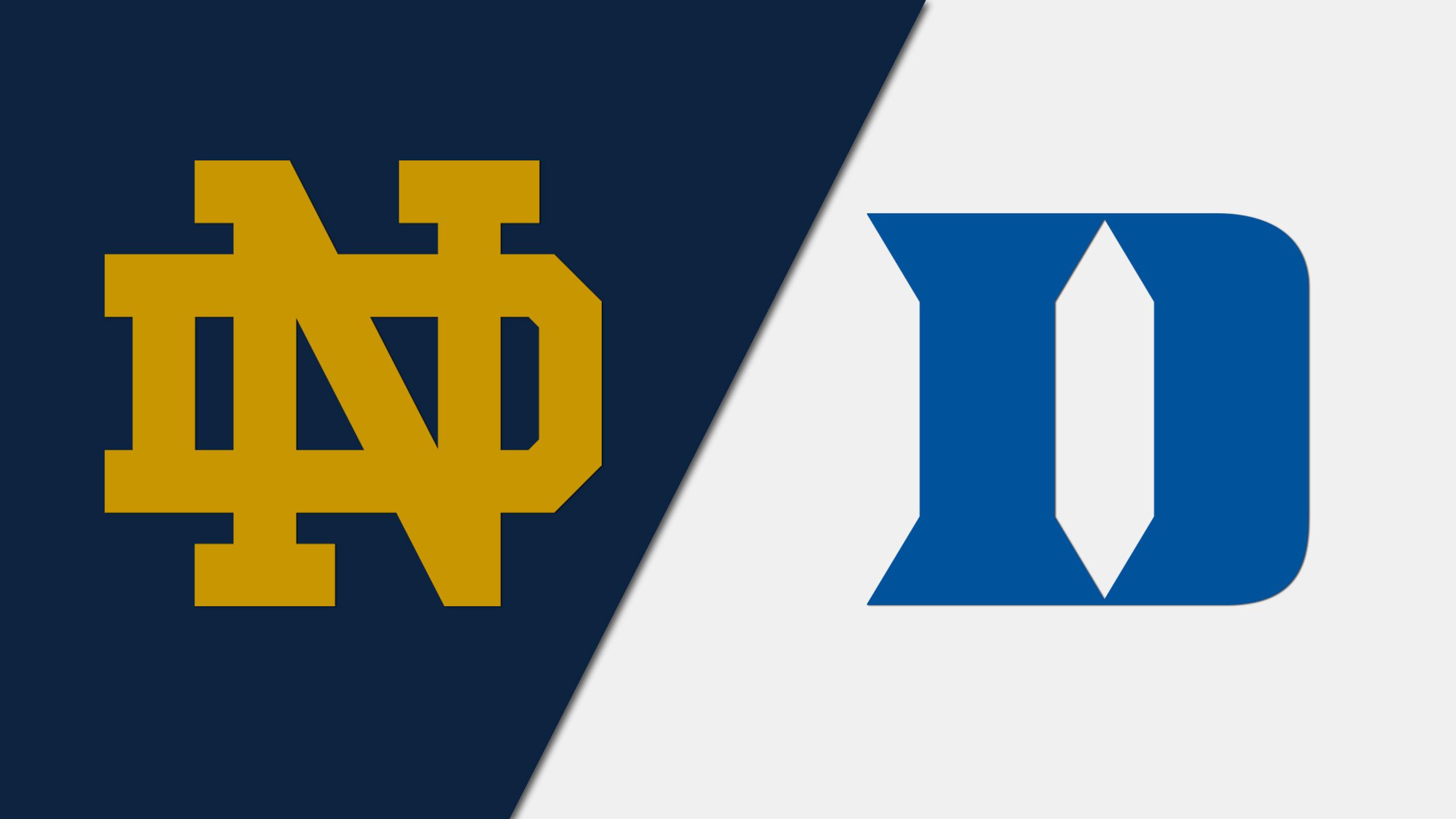 #9 Notre Dame vs. #17 Duke (M Soccer)