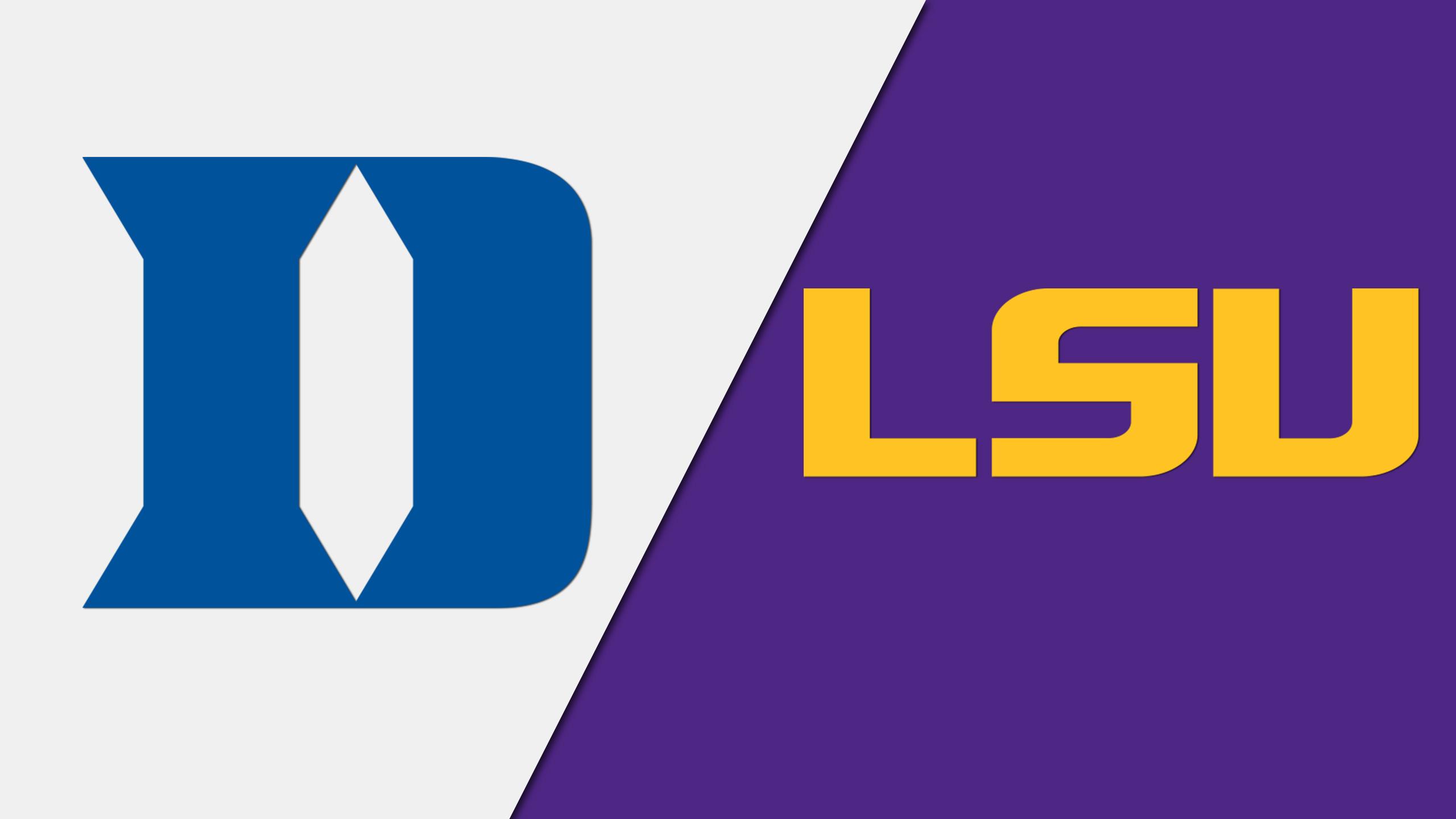 Duke vs. LSU (W Volleyball)