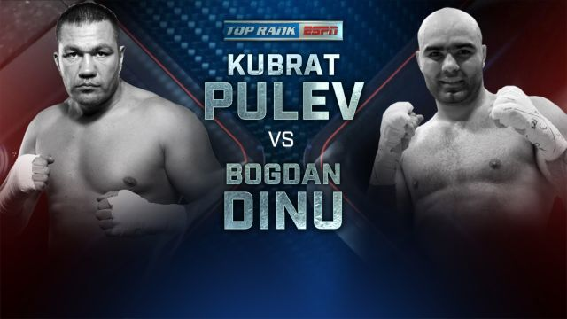 Kubrat Pulev vs. Bogdan Dinu