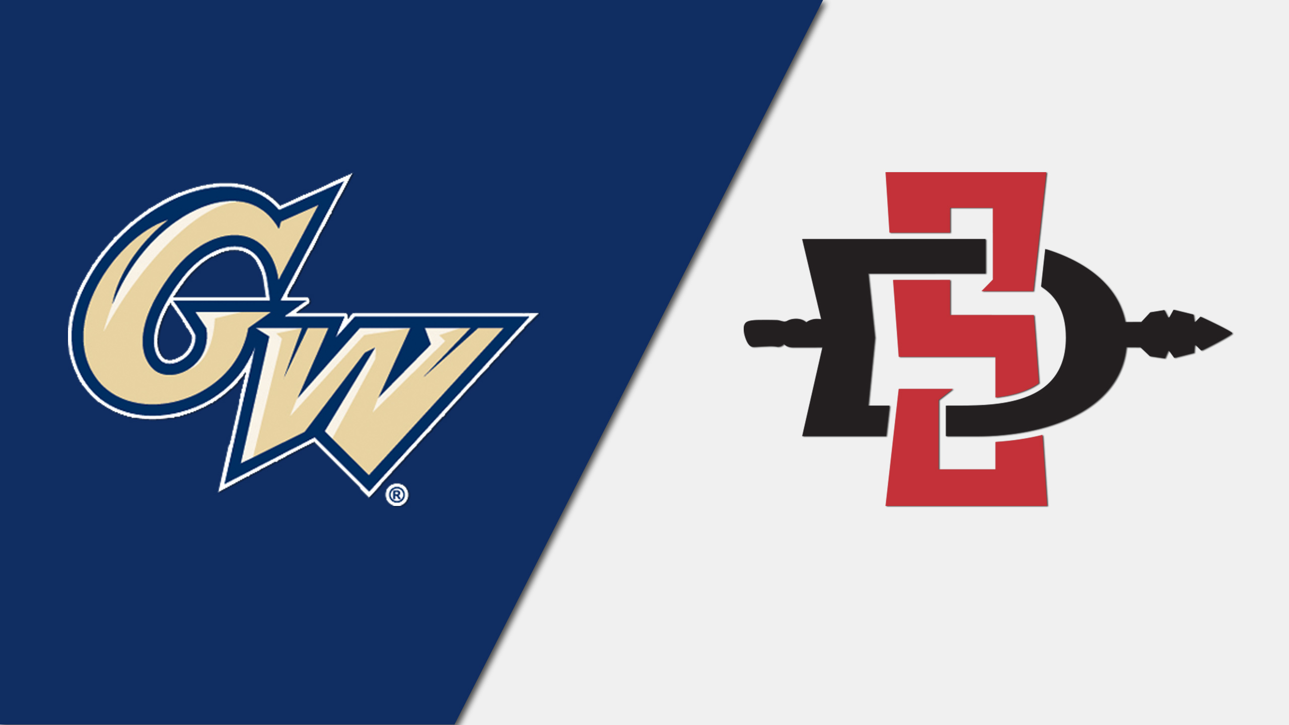 #4 George Washington vs. #2 San Diego State (Semifinal #2) (re-air)
