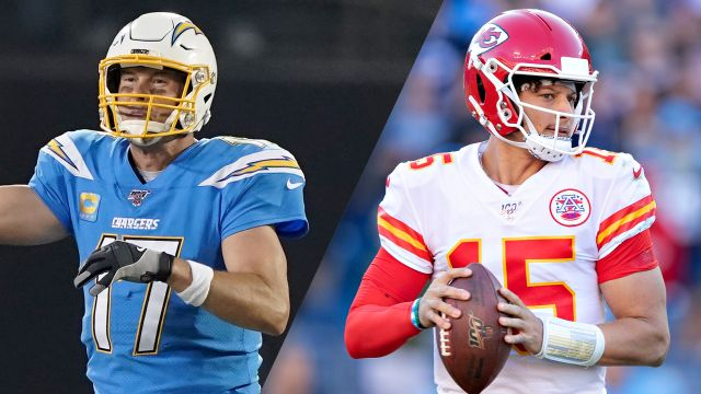 Kansas City Chiefs vs. Los Angeles Chargers