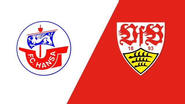 Hansa Rostock vs. VfB Stuttgart (Round 1) (German Cup)