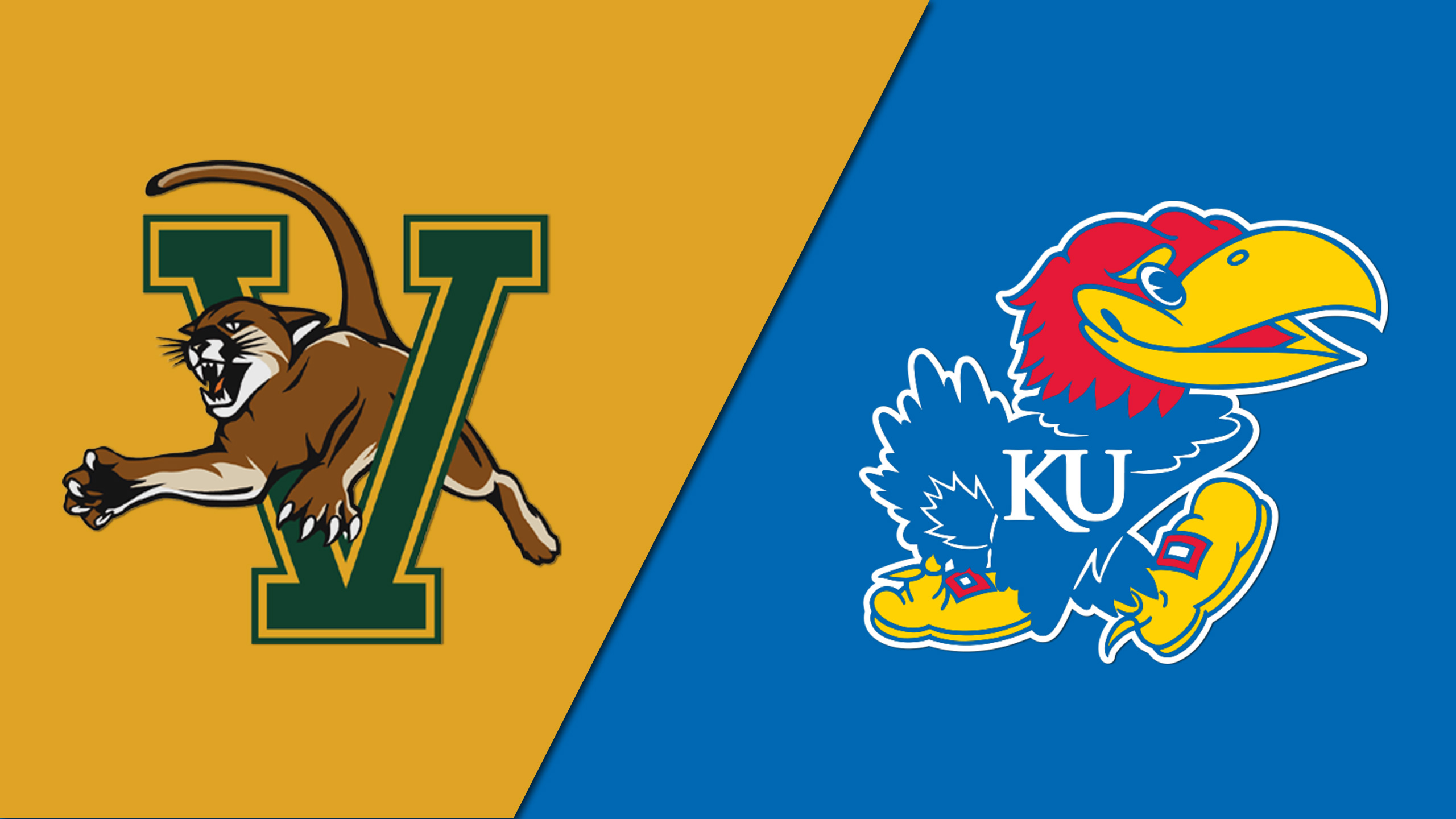 Vermont vs. #2 Kansas (M Basketball) (re-air)