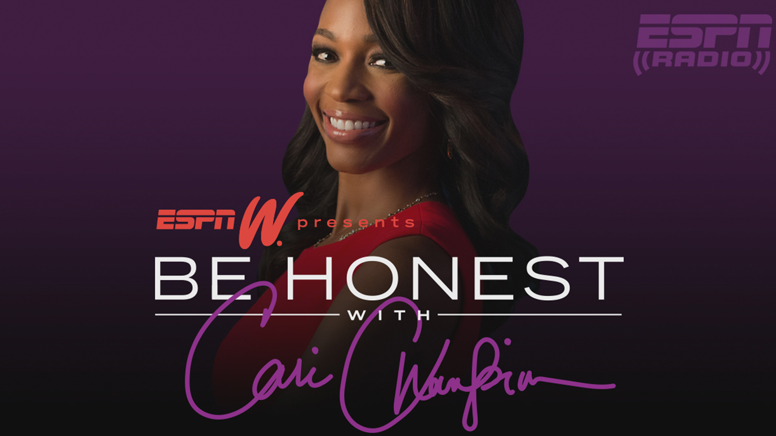 Tue, 11/13 - Be Honest with Cari Champion