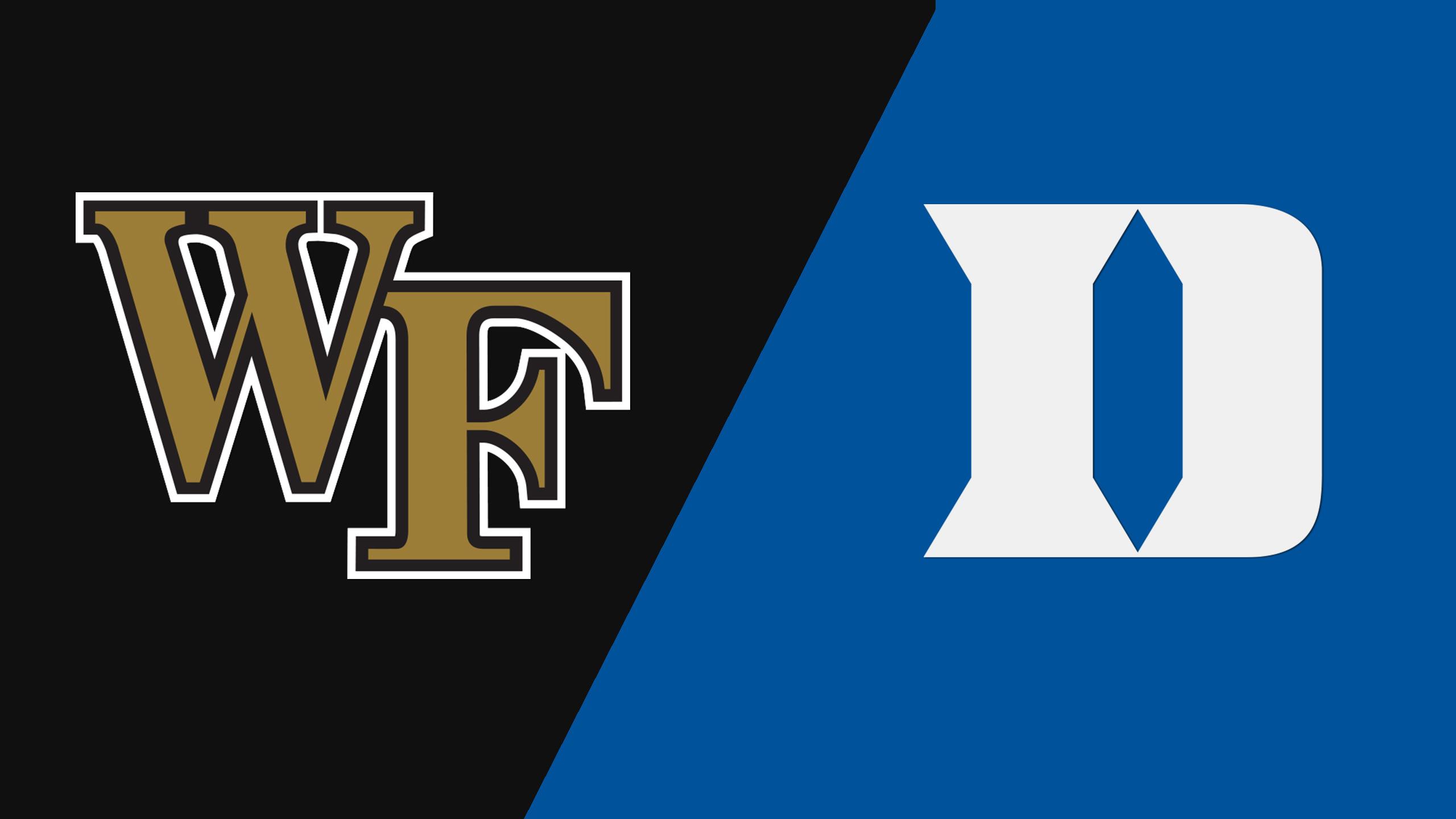 Wake Forest vs. Duke