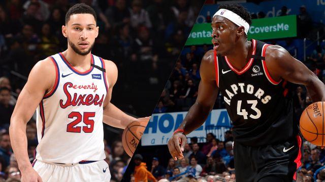 Philadelphia 76ers vs. Toronto Raptors