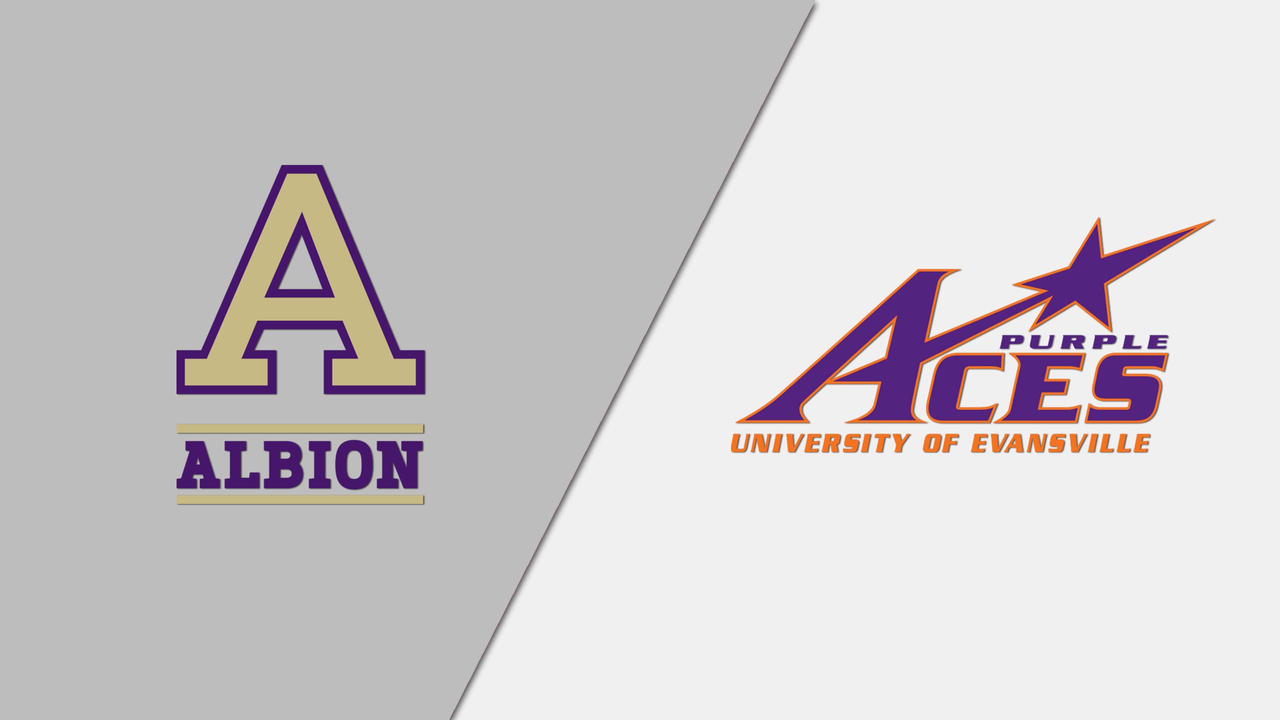 Albion vs. Evansville (M Basketball)