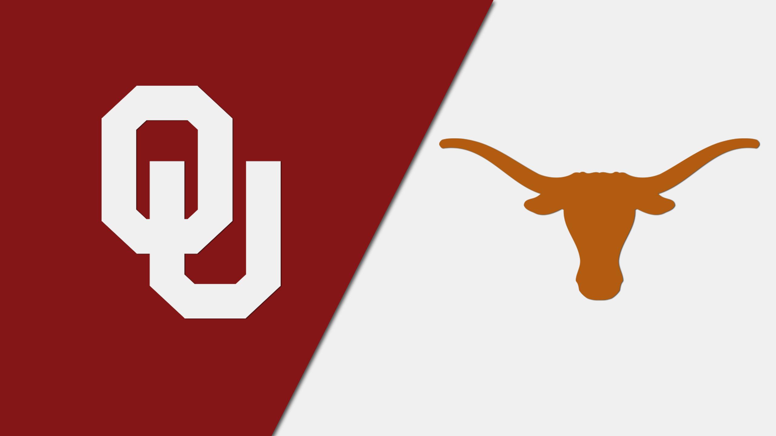 Oklahoma vs. #20 Texas (W Soccer) (re-air)