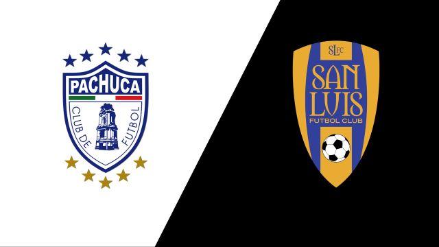 In Spanish-Tuzos del Pachuca vs. Atlético San Luis (Jornada 8) (Liga MX)