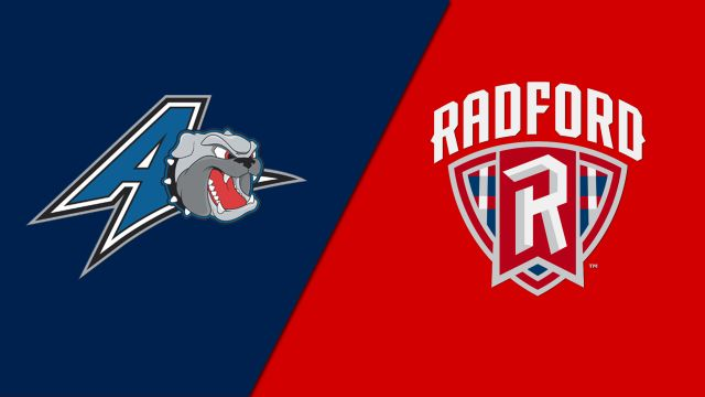 Thu, 2/20 - UNC Asheville vs. Radford (M Basketball)