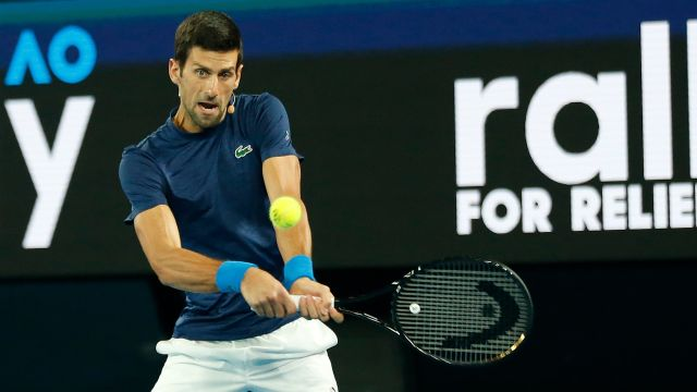 (2) Djokovic vs. Struff (Men's First Round)