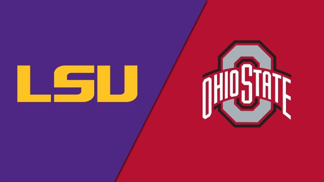 LSU Tigers vs. Ohio State Buckeyes (re-air)
