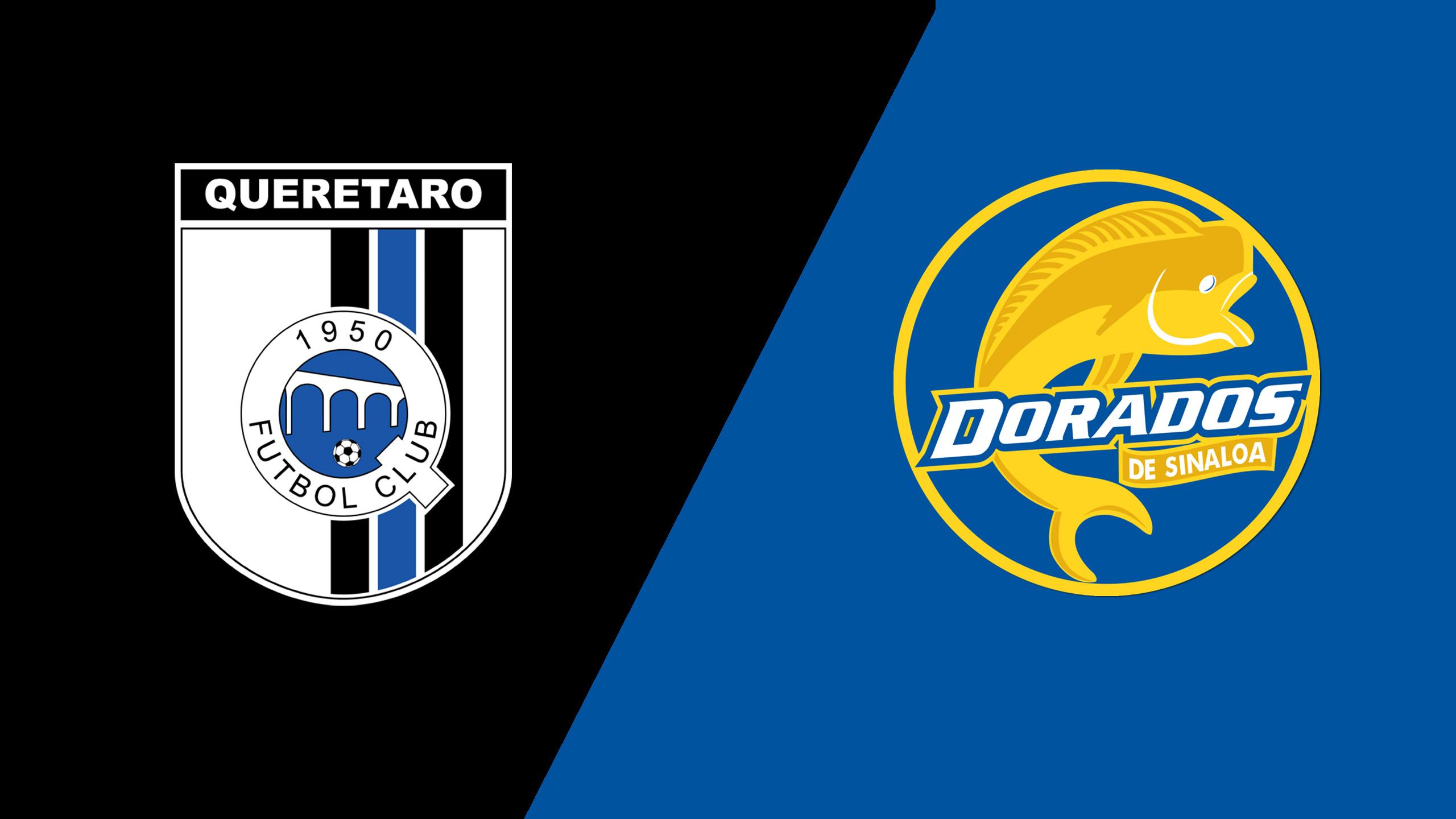 Gallos Blancos de Querétaro vs. Dorados de Sinaloa (Jornada 2) (Copa MX)