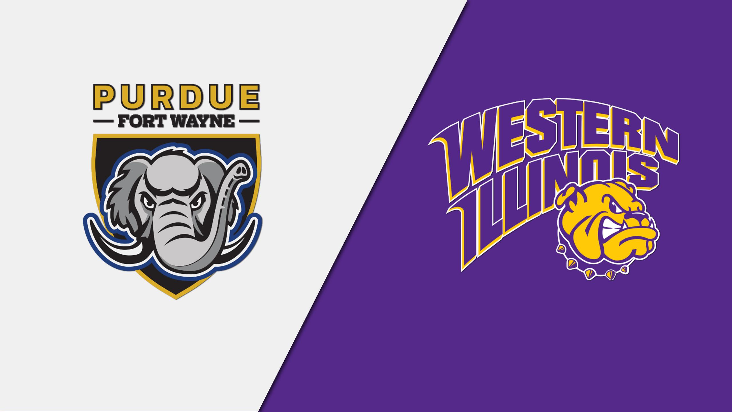 Purdue-Fort Wayne vs. Western Illinois (Baseball)