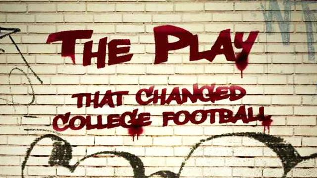 The Play That Changed College Football