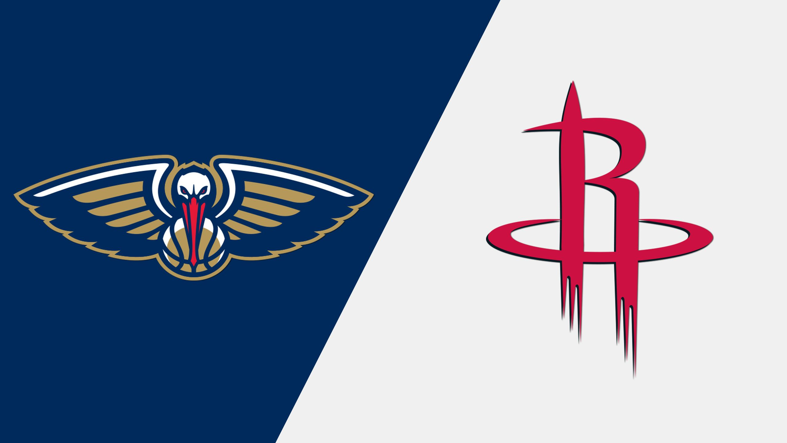 New Orleans Pelicans vs. Houston Rockets (re-air)