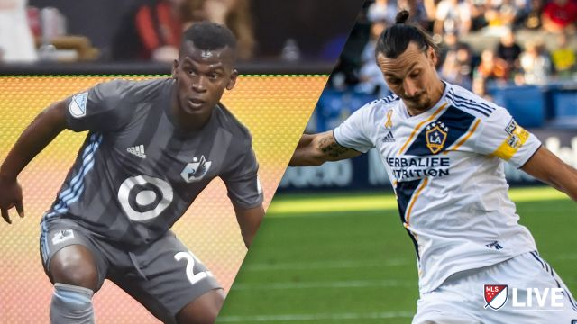 Sun, 10/20 - In Spanish-Minnesota United FC vs. Los Angeles Galaxy (MLS)