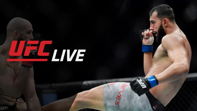 Fri, 10/18 - UFC Live: Fight Night Boston