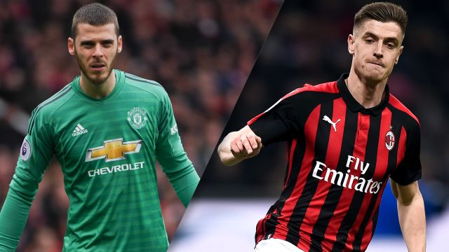 In Spanish-Manchester United vs. AC Milan (International Champions Cup)