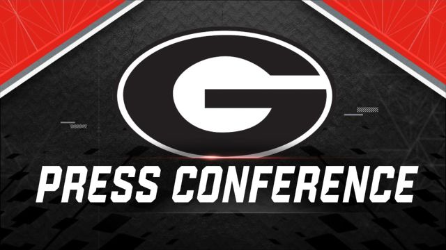Georgia Football Press Conference
