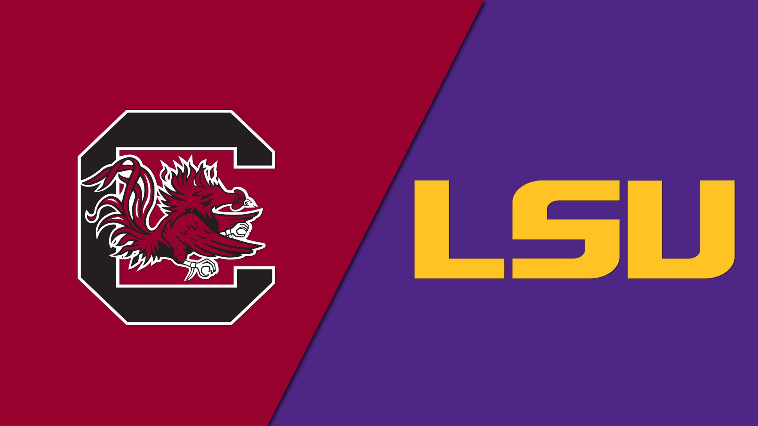#21 South Carolina vs. LSU (W Basketball)