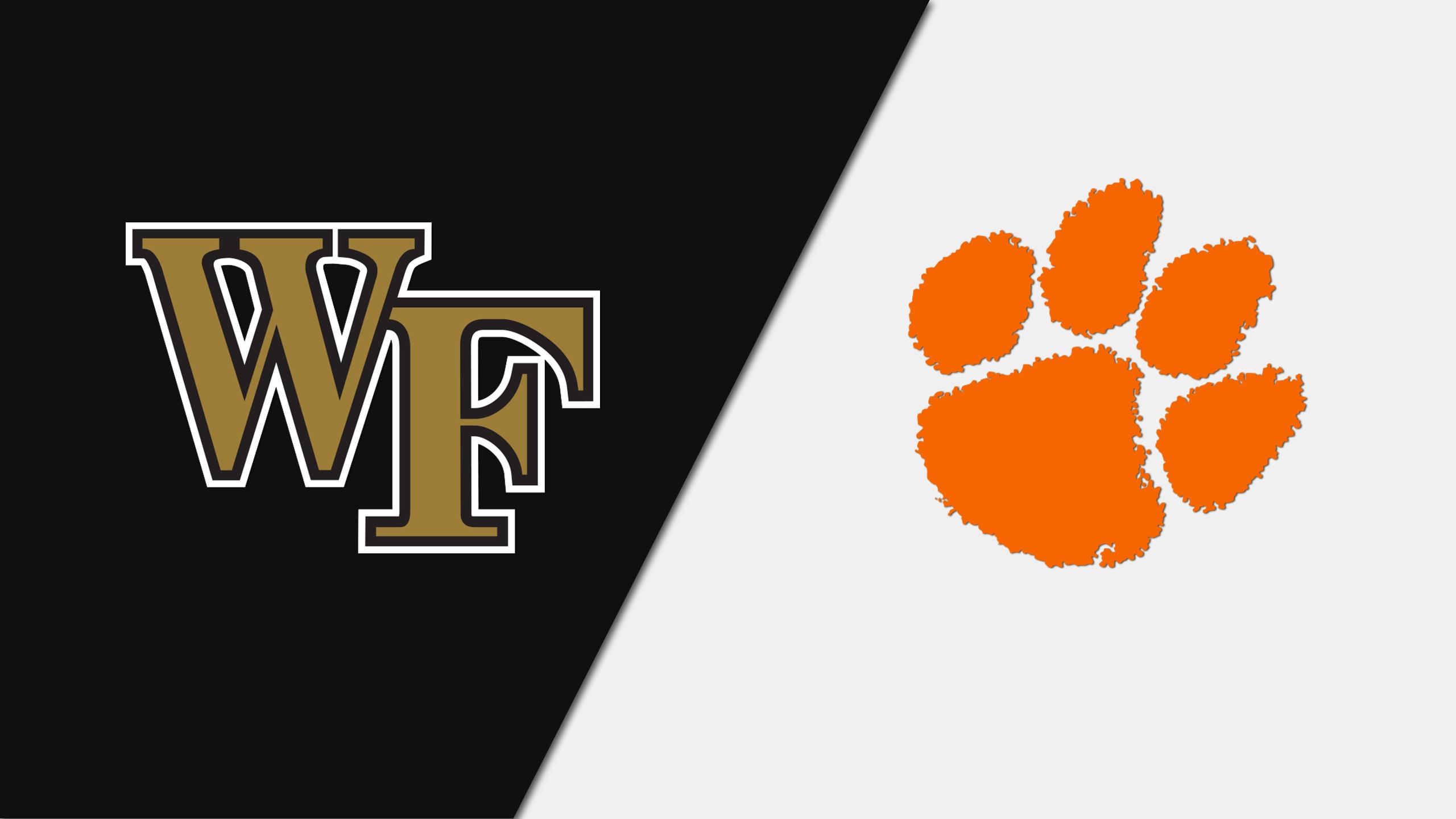 Wake Forest vs. Clemson