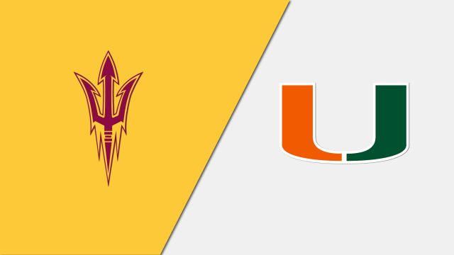 #5 Arizona State vs. #4 Miami (FL) (Second Round) (NCAA Women's Basketball Championship)