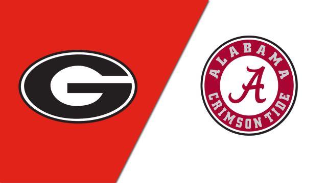 Georgia vs. Alabama